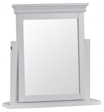 Stratford Grey Painted Trinket Mirror